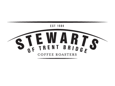 Stewarts Coffees Logo - a quote from Stewarts Coffees for the Big Sky Cinema Pop Up Cinema Hire