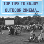 Outdoor cinema enjoyment - Hodsock Priory